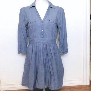 H&M cotton chambray dress sz. 10